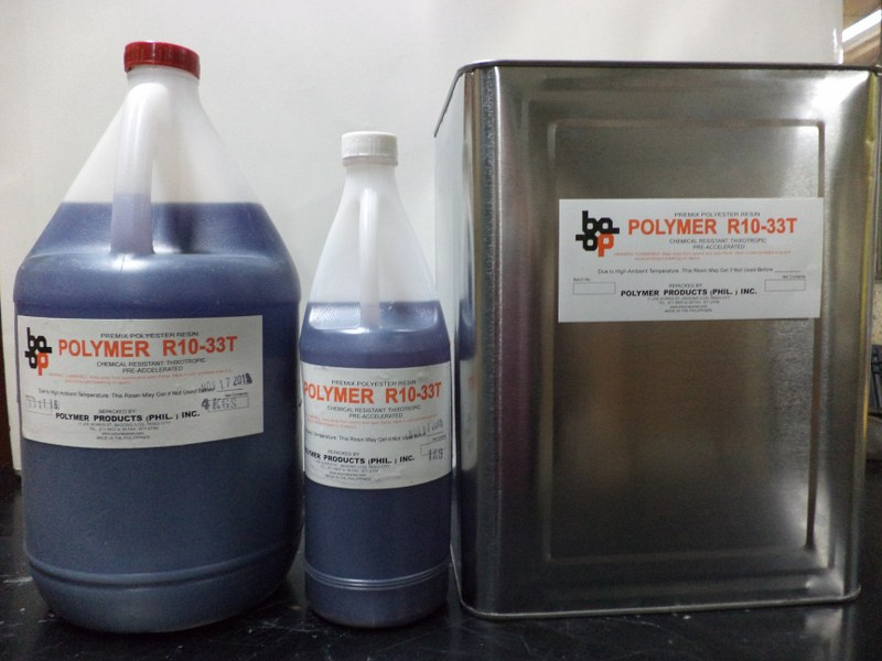 r10-33t chemical resistant resin