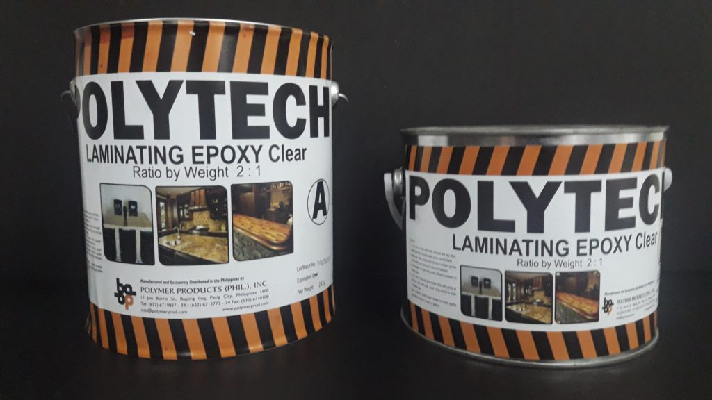 Polytech Laminating Epoxy Clear - Polymer Products (PHIL ) INC